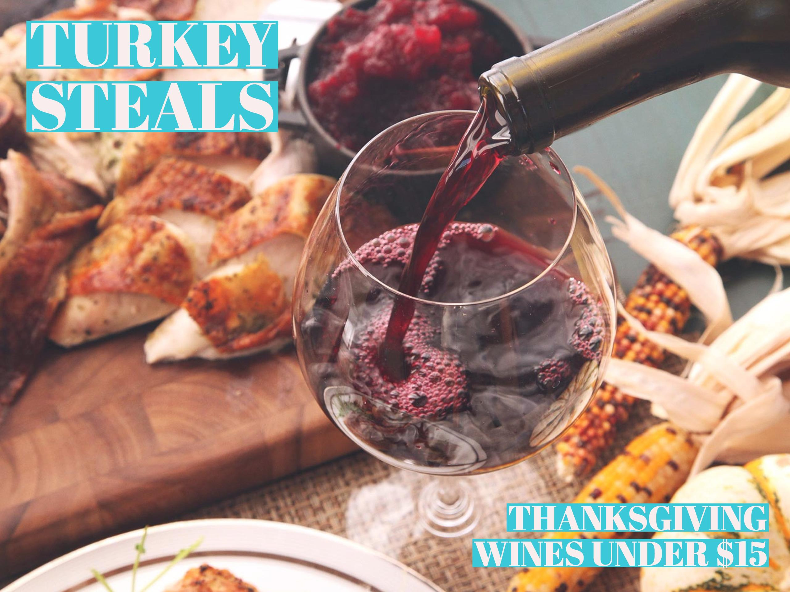 thanksgiving wine under $15