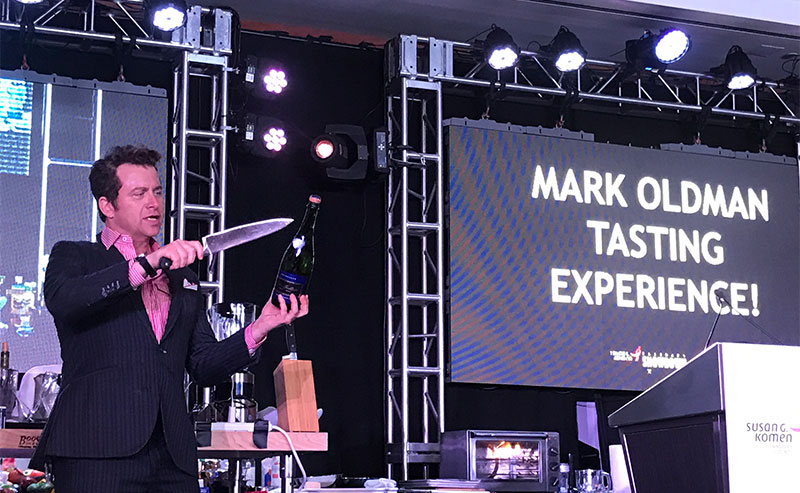 corporate wine tastings - Mark Oldman Tasting Experience