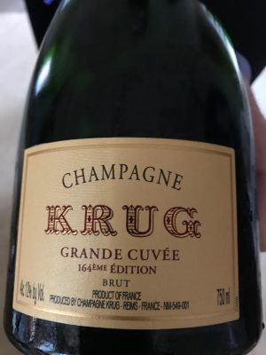 Krug Grand Cuvee - top Champagne for New Year's Eve