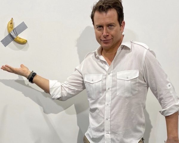 Art Basel Banana - Mark Oldman photo
