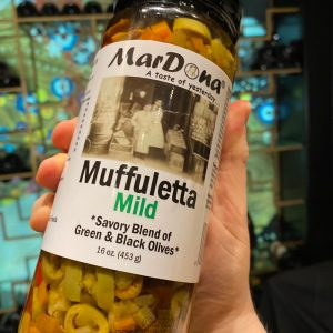Mufuletta spread