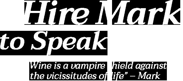 Hire Mark to Speak
