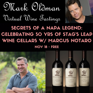 Secrets of a Napa Legend: Celebrating 50 Years of Stag's Leap of Wine Cellars with Marcus Notaro