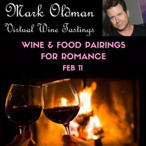Wine & Food Pairings for Romance (Pre Valentine's Virtual Tasting)